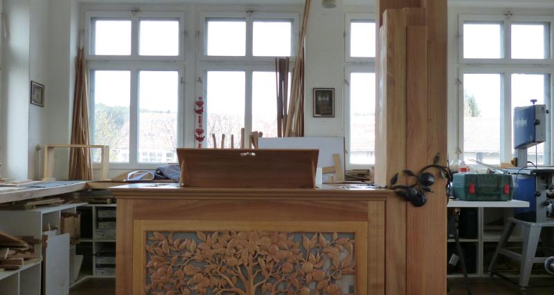 Nouvel orgue pour le Centre de Musique Baroque de Versailles.